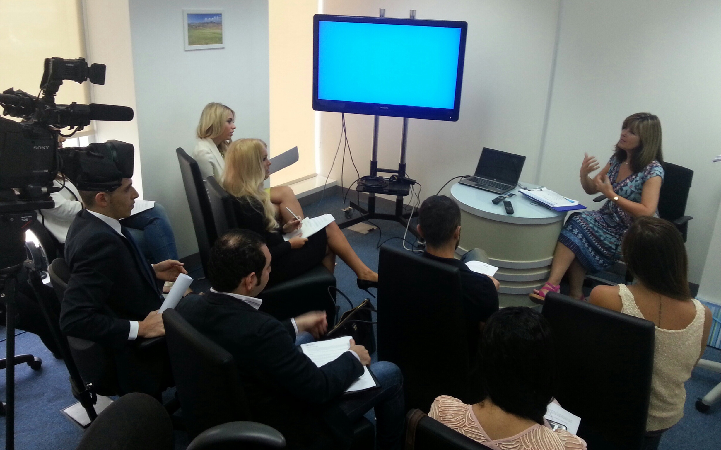 Guest training session in Dubai at Citruss TV